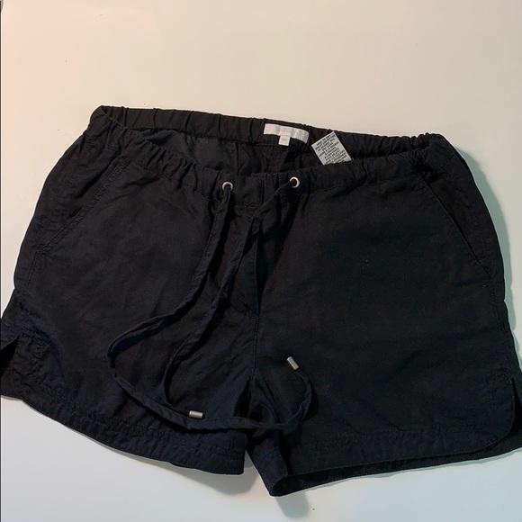 Black tie up shorts (RW&CO)